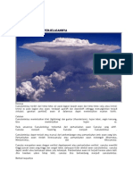 bahan sains awan