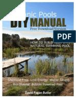 DIY Natural Pool Manual Free Version