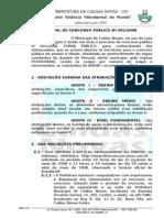 Edital Concurso Publico 0012008