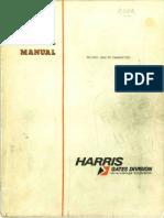 Harris FM BC 10H Transmitter 1974