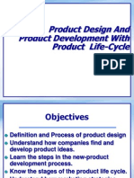 Product Design And Produc Development With Product Life Cycle