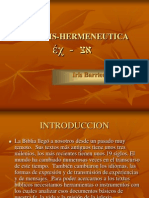 Exegesis Hermeneutica1