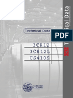 Technical Data 3CR12