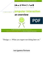 Hci01 Humancomputerinteraction Overview 100223032907 Phpapp01