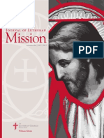 Journal of Lutheran Mission | September 2014