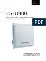 AY-U900 Installation and User Manual v02 - 141013 - English
