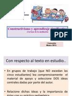 Constructivismo y Aprendizaje Significativo 2013 (1)