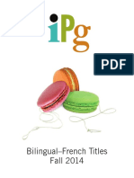 IPG Fall 2014 Bilingual French Titles