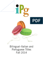 IPG Fall 2014 Bilingual Italian and Portuguese Titles