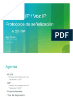 ToIP VoIP Protocolos H323-SIP