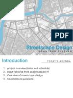 Streetscape Design Chatham
