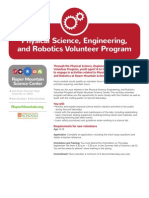 final stem center volunteer application