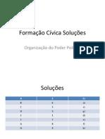 Formação Cívica Soluções