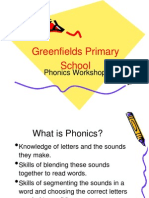 School Phonics Workshop