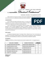 Resolucion de Retirado 2012 - II