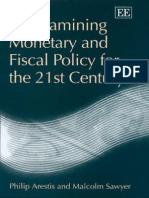 ARESTIS e SAWYER Re Examingin Monetary and Fiscal Policy for 21 St Century