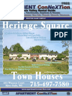 St Croix Valley APARTMENT ConNeXTion Rental Guide October 2014