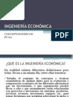 1. Conceptos Basicos. Ingeniería Económica. Fuaa.