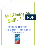 Special Report - The Bitter Truth About Aspartame