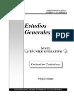 1290 Contenidos Curriculares - Estudios Generales To