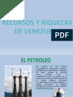 Recursos y Riquezas de Venezuela