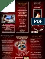 Operation Foster Milk Brochure