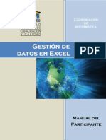 Gestion de Datos en Excel