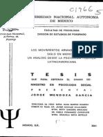 Los Movimientos Armados de Fin de Siglo en México-un Análisis Desde La Psicología Latinoamericana-tesis Maest-jorge Mendoza García