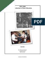 syllabus mue 2040 intro f2014