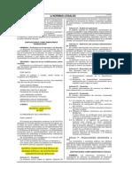 Decreto Legislativo N° 1057 CAS contratación administrativa de servicios