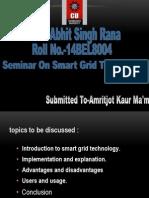 Seminar on Smart Grid
