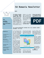 Newsletter ECSA Romania Issue No.2