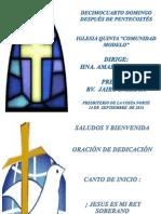 Culto 14-09-14