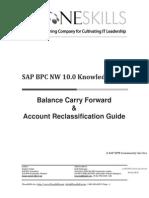BPC 10 - Carry forward & Account Transformations
