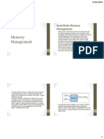 Lesson 6 Memory Management