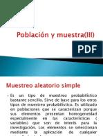 Población y Muestra(III)
