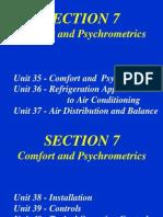 Unit 35 Comfort and Psychrometrics