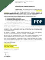 Carta de Convocação 1ª Chamada - Sms