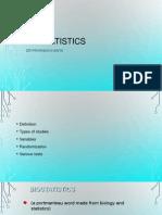 Bio Statistics