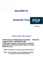 Microsdm Equipment Theory