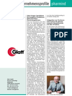 Glatt Information about the Glatt Group