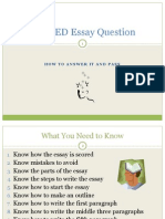 How to Write a Five Paragraph Opinion Essay