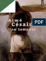 Aimé Cesaire-Une Tempête
