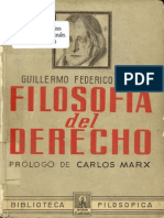 6767708 Hegel Guillermo Federico Filosofia Del Derecho