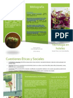 Brochure Tecnologia en Hoteles