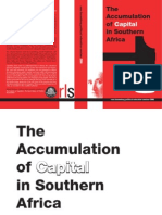 Accumulation of Capital in Southern Africa