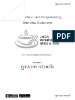 Important Java Programming Interview Questions