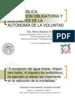 Vacunación y Salud Pública Gioja Septiembre 2014. Dra. Ciruzzi