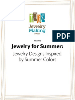 Summer Jewelry Designs Free eBook