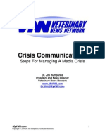 3 Crisis Communications